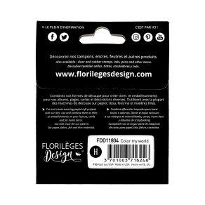 Outils de découpe COLOR MY WORLD par Florilèges Design. Scrapbooking et loisirs créatifs. Livraison rapide et cadeau dans cha...