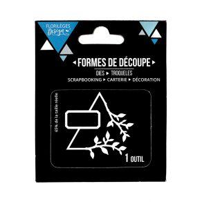 Outil de découpe TRIANGLE NATURE par Florilèges Design. Scrapbooking et loisirs créatifs. Livraison rapide et cadeau dans cha...