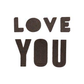 Outils de découpe LOVE YOU par Florilèges Design. Scrapbooking et loisirs créatifs. Livraison rapide et cadeau dans chaque co...