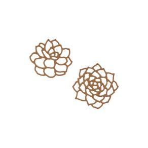 Outils de découpe DEUX SUCCULENTES par Florilèges Design. Scrapbooking et loisirs créatifs. Livraison rapide et cadeau dans c...