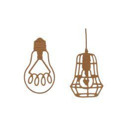 Outils de découpe AMPOULES INDUS par Florilèges Design. Scrapbooking et loisirs créatifs. Livraison rapide et cadeau dans cha...
