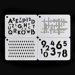 Pochoir DES CHIFFRES ET DES LETTRES par Florilèges Design. Scrapbooking et loisirs créatifs. Livraison rapide et cadeau dans ...