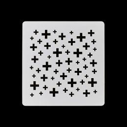 Pochoir PETITES CROIX par Florilèges Design. Scrapbooking et loisirs créatifs. Livraison rapide et cadeau dans chaque commande.