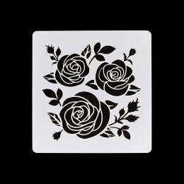 Pochoir DES ROSES par Florilèges Design. Scrapbooking et loisirs créatifs. Livraison rapide et cadeau dans chaque commande.