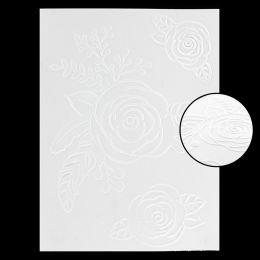 Plaque d'embossage TROIS ROSES