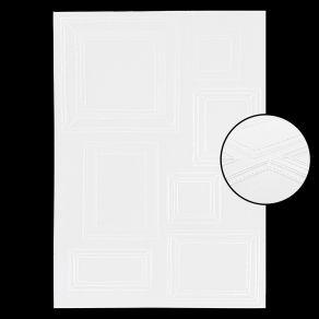 Plaque d'embossage MUR DE CADRES par Florilèges Design. Scrapbooking et loisirs créatifs. Livraison rapide et cadeau dans cha...
