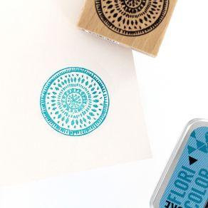 PROMO de -40% sur Tampon bois ESPRIT BATIK Florilèges Design