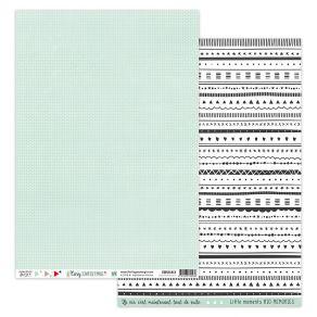 Papier imprimé COSY CHRISTMAS 4 par Florilèges Design. Scrapbooking et loisirs créatifs. Livraison rapide et cadeau dans chaq...