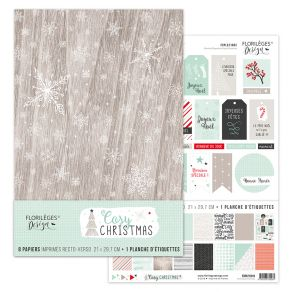 Parfait pour créer : Kit COSY CHRISTMAS par Florilèges Design. Livraison rapide et cadeau dans chaque commande.
