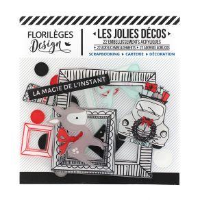 Décos MAGIE DE L'INSTANT par Florilèges Design. Scrapbooking et loisirs créatifs. Livraison rapide et cadeau dans chaque comm...