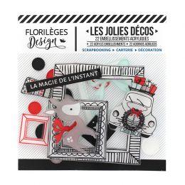 Parfait pour créer : Décos MAGIE DE L'INSTANT par Florilèges Design. Livraison rapide et cadeau dans chaque commande.