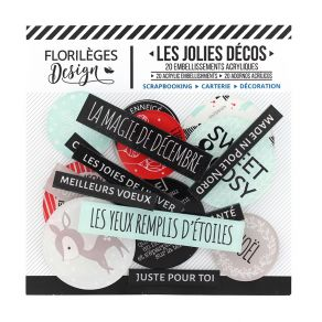 PROMO de -20% sur Décos SWEET AND COSY Florilèges Design
