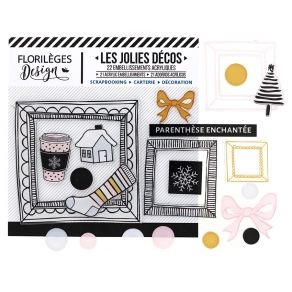 Décos PARENTHÈSE ENCHANTÉE par Florilèges Design. Scrapbooking et loisirs créatifs. Livraison rapide et cadeau dans chaque co...