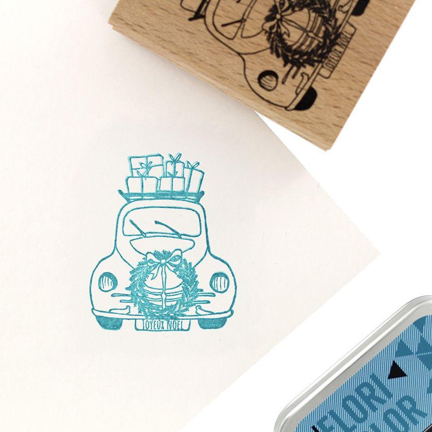 Tampon bois LIVRAISON SPÉCIALE par Florilèges Design. Scrapbooking et loisirs créatifs. Livraison rapide et cadeau dans chaqu...