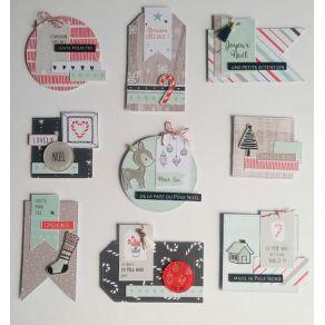 Décos SWEET AND COSY par Florilèges Design. Scrapbooking et loisirs créatifs. Livraison rapide et cadeau dans chaque commande.
