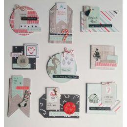 Parfait pour créer : Décos SWEET AND COSY par Florilèges Design. Livraison rapide et cadeau dans chaque commande.