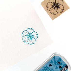 Tampon bois HYDRANGEA 5 PÉTALES par Florilèges Design. Scrapbooking et loisirs créatifs. Livraison rapide et cadeau dans chaq...
