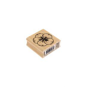 PROMO de -20% sur Tampon bois HYDRANGEA 5 PÉTALES Florilèges Design