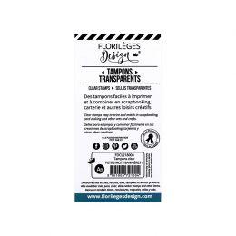 Tampons clear PETITS MOTS BANNIÈRES 1