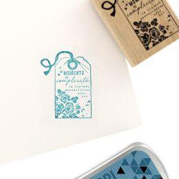 Tampon bois LA VIE EST MERVEILLEUSE par Florilèges Design. Scrapbooking et loisirs créatifs. Livraison rapide et cadeau dans ...