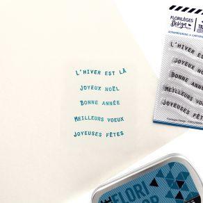Tampons clear PETITS MOTS BANNIÈRES 1 par Florilèges Design. Scrapbooking et loisirs créatifs. Livraison rapide et cadeau dan...