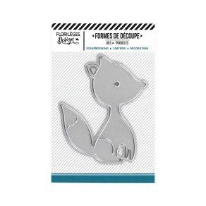 Outil de découpe MON PETIT RENARD par Florilèges Design. Scrapbooking et loisirs créatifs. Livraison rapide et cadeau dans ch...