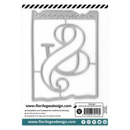 Outils de découpe GRAND FEUILLET par Florilèges Design. Scrapbooking et loisirs créatifs. Livraison rapide et cadeau dans cha...