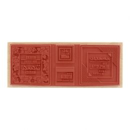 Tampon bois italien AMARSI SEMPLICEMENTE par Florilèges Design. Scrapbooking et loisirs créatifs. Livraison rapide et cadeau ...