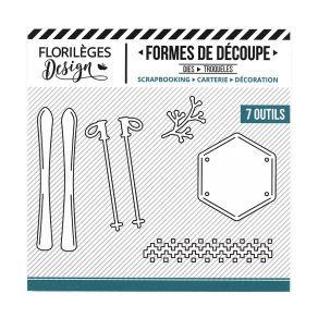 PROMO de -20% sur Outils de découpe SKIS ET BÂTONS Florilèges Design