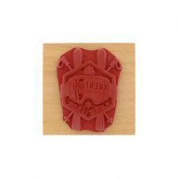 Tampon bois PLAISIR DE LA GLISSE par Florilèges Design. Scrapbooking et loisirs créatifs. Livraison rapide et cadeau dans cha...