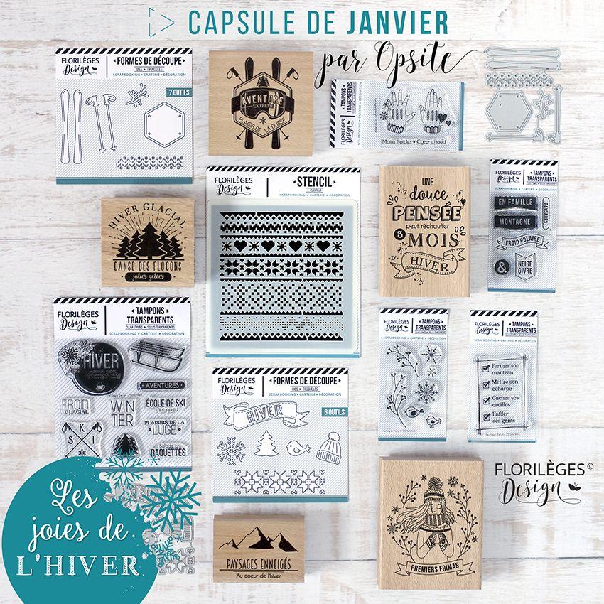 Pack capsule de Janvier 2019