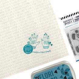 Tampons clear MAINS FROIDES par Florilèges Design. Scrapbooking et loisirs créatifs. Livraison rapide et cadeau dans chaque c...