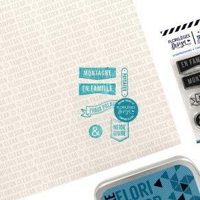 Tampons clear PAYSAGES ET MONTAGNES par Florilèges Design. Scrapbooking et loisirs créatifs. Livraison rapide et cadeau dans ...