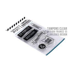 Tampons clear PAYSAGES ET MONTAGNES