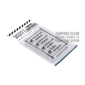 Tampons clear TO DO LIST