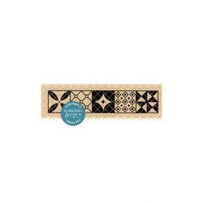 Tampon bois CARREAUX DE CIMENT par Florilèges Design. Scrapbooking et loisirs créatifs. Livraison rapide et cadeau dans chaqu...