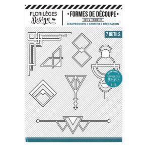 PROMO de -60% sur Outils de découpe ART DÉCO Florilèges Design