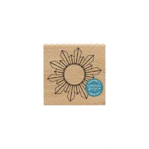Tampon bois MIROIR DÉCO par Florilèges Design. Scrapbooking et loisirs créatifs. Livraison rapide et cadeau dans chaque comma...