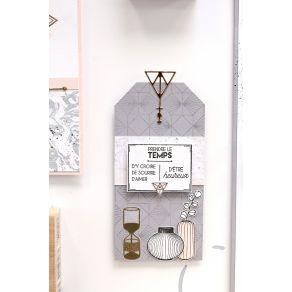 Tampon bois PRENDRE LE TEMPS 2 par Florilèges Design. Scrapbooking et loisirs créatifs. Livraison rapide et cadeau dans chaqu...