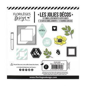 Décos THE STORY OF US par Florilèges Design. Scrapbooking et loisirs créatifs. Livraison rapide et cadeau dans chaque commande.
