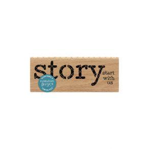 Tampon bois STORY