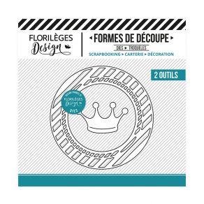 Outils de découpe PRINCESSE par Florilèges Design. Scrapbooking et loisirs créatifs. Livraison rapide et cadeau dans chaque c...