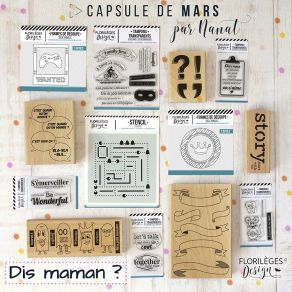 Pack capsule de Mars 2019