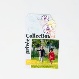 Tampon bois TROIS ÉVENTAILS par Florilèges Design. Scrapbooking et loisirs créatifs. Livraison rapide et cadeau dans chaque c...